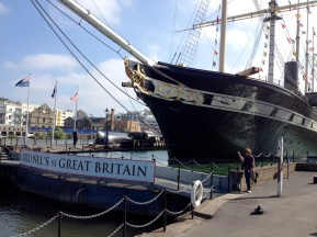 One of Isaac Brunel's many great achievement, an iron hulled, fast ocean liner. Now on exhibit in the dry dock where she was built.