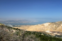 Israeli city of Tiberias, across the Sea of Galilee.