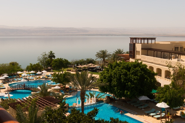 The Marriot Resort at the Dead Sea.
