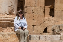 Denise at the Temple of Artemis