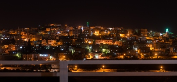 Jerash by night