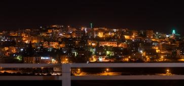 Jerash by night