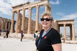 Denise at the Erqchtheion