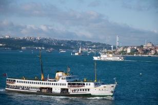 Leaving Istanbul Harbor