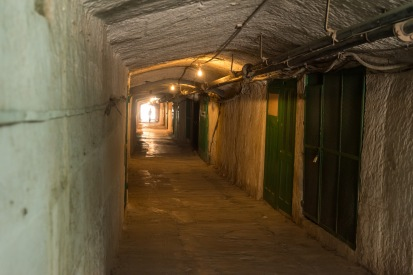 One of the outer tunnels.