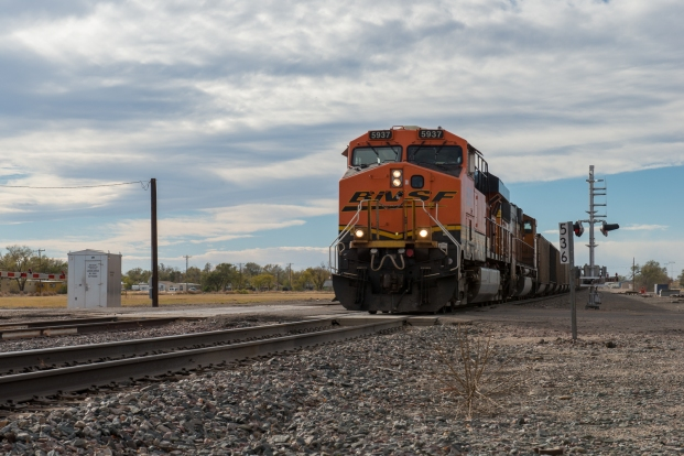 BNSF trains are one of our favorite sights during our travels out west