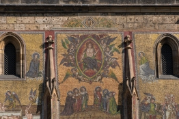 Mosaic on the Exterior of the Cathedral