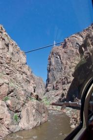 Bridge, some 1,000 feet above the Gorge.