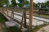 Bridge replica.