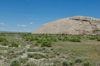 Independence Rock, looking east