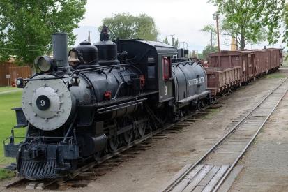 Narrow gauge train.