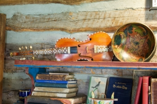 An eight string violin!